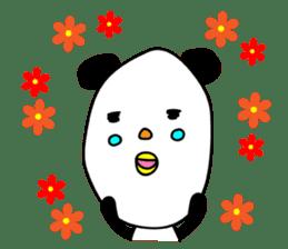 Panda James sticker #7675196