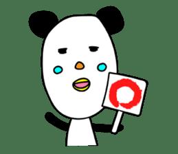 Panda James sticker #7675207