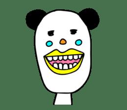Panda James sticker #7675213