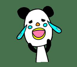 Panda James sticker #7675215