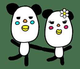 Panda James sticker #7675216