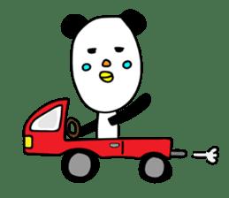 Panda James sticker #7675226