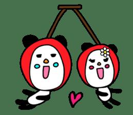 Panda James sticker #7675229