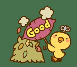 Marukyun Autumn sticker #7675533