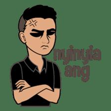 Minang Guy sticker #7675849