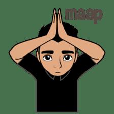 Minang Guy sticker #7675850