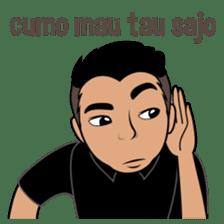 Minang Guy sticker #7675851