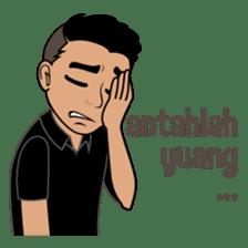 Minang Guy sticker #7675855