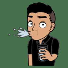 Minang Guy sticker #7675856