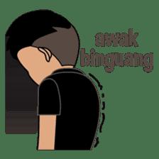 Minang Guy sticker #7675860
