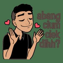 Minang Guy sticker #7675863