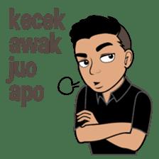Minang Guy sticker #7675866
