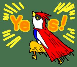 "THE HERO BIRD-MAN ""COKE-KING"" sticker #7682446"