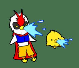 "THE HERO BIRD-MAN ""COKE-KING"" sticker #7682450"