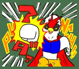 "THE HERO BIRD-MAN ""COKE-KING"" sticker #7682455"