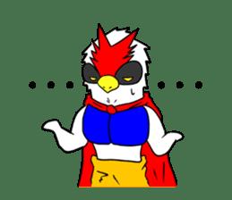 "THE HERO BIRD-MAN ""COKE-KING"" sticker #7682460"