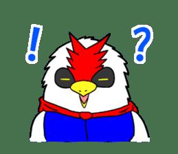 "THE HERO BIRD-MAN ""COKE-KING"" sticker #7682471"