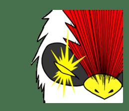 "THE HERO BIRD-MAN ""COKE-KING"" sticker #7682472"