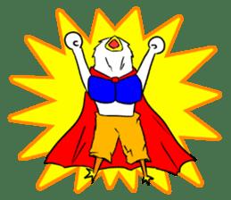 "THE HERO BIRD-MAN ""COKE-KING"" sticker #7682473"