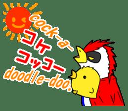 "THE HERO BIRD-MAN ""COKE-KING"" sticker #7682480"