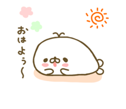 Seals Marshmallow sticker #7687380