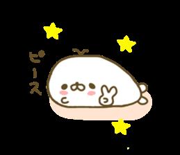 Seals Marshmallow sticker #7687385