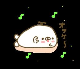 Seals Marshmallow sticker #7687386