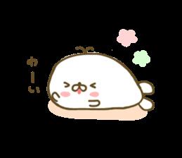 Seals Marshmallow sticker #7687387