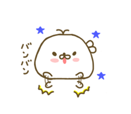 Seals Marshmallow sticker #7687401