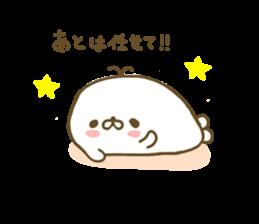 Seals Marshmallow sticker #7687403