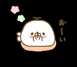 Seals Marshmallow sticker #7687404