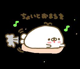 Seals Marshmallow sticker #7687418