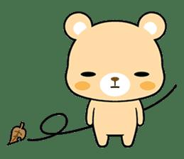 Bear with Italian phrases sticker #7689776