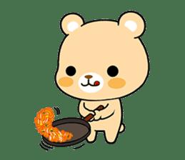 Bear with Italian phrases sticker #7689777