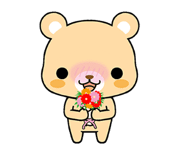 Bear with Italian phrases sticker #7689779