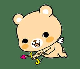 Bear with Italian phrases sticker #7689780