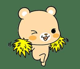 Bear with Italian phrases sticker #7689794
