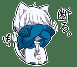 WHITE KITTEN 3 sticker #7694190