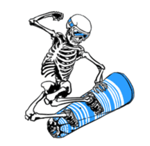 just bones3 sticker #7695007