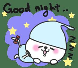 pretty cute cat momo english version sticker #7696373