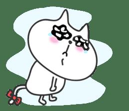 pretty cute cat momo english version sticker #7696388