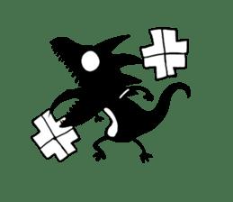 Shadow lizard(4) sticker #7705742
