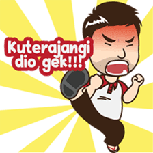 Ferry, The awesome guy from Palembang sticker #7710415