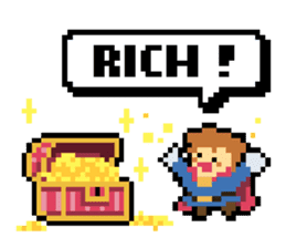 Pixel Me (English) sticker #7710446