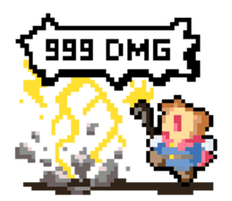 Pixel Me (English) sticker #7710450