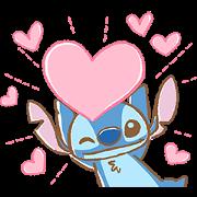 สติ๊กเกอร์ไลน์ Stitch: Easygoing Politeness