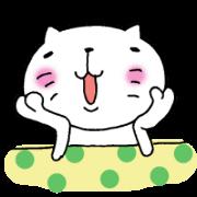 สติ๊กเกอร์ไลน์ The cat which is a good feeling 2