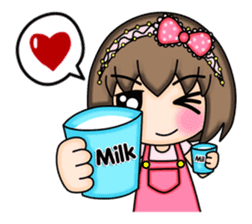 Mimi (English) sticker #7719494
