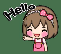 Mimi (English) sticker #7719498