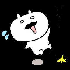 Kansai dialect rabbit of Japan
